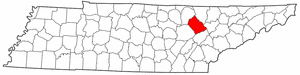 Image:Map of Tennessee highlighting Morgan County.png