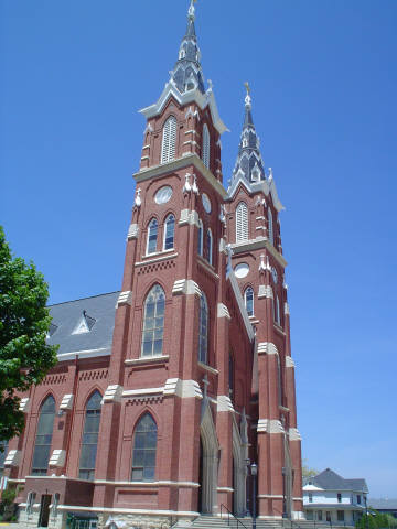 The Basilica of St. Francis Xavier, .