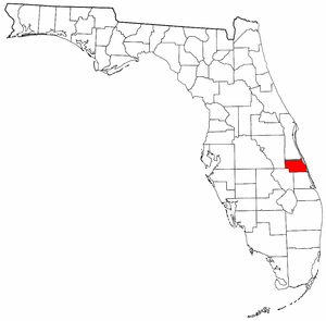 Image:Map of Florida highlighting Indian River County.png