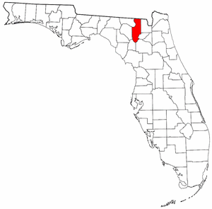 Image:Map of Florida highlighting Columbia County.png