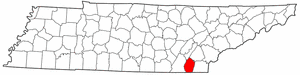 Image:Map of Tennessee highlighting Bradley County.png
