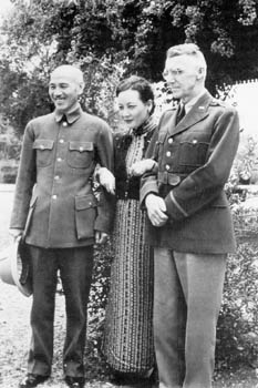 Generalissimo and  with  in Burma (1942).