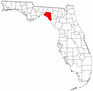 Image:Map of Florida highlighting Taylor County.png