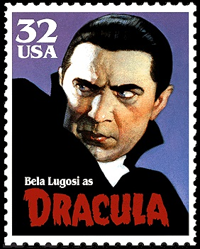 Bela Lugosi as Dracula United States stamp