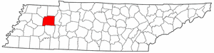 Image:Map of Tennessee highlighting Carroll County.png