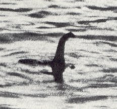 "The famous ""Surgeon's photo"" hoax of the Loch Ness monster"