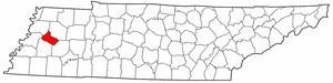 Image:Map of Tennessee highlighting Crockett County.png
