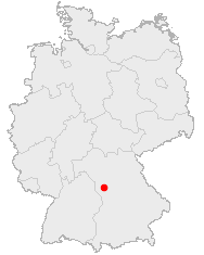 Map of Germany showing Ansbach.jpg
