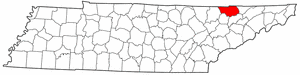 Image:Map of Tennessee highlighting Claiborne County.png