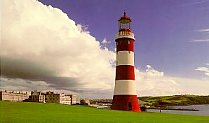 Smeaton's tower on Plymouth Hoe