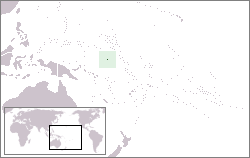 Location of Nauru