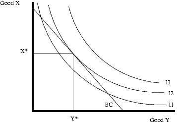 link between indifference curves budget constraint an consumers choice.