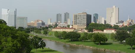 Fort Worth's downtown skyline