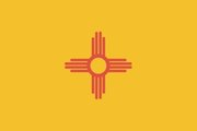 Flag of New Mexico. Image provided byClassroom Clip Art (http://classroomclipart.com)