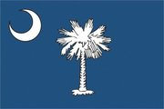 Flag of South Carolina. Image provided by Classroom Clip Art (http://classroomclipart.com)