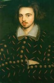 An anonymous portrait, often believed to show Christopher Marlowe
