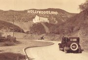 "The ""Hollywoodland"" sign in the 1920s"