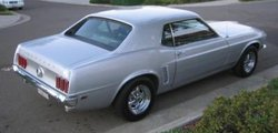 Modified 1969 Ford Mustang Hardtop
