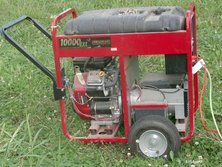 Portable generator (side view)