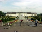 Main Building and Baroque Gardens of , Germany's largest Baroque Palace