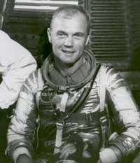 John Glenn during the Mercury program; 1962 (NASA)