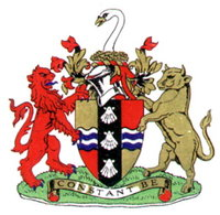 Arms of Bedfordshire County Council