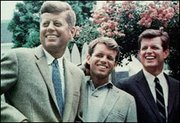 The Kennedy brothers: John, Robert, and Edward (Ted)