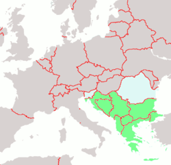 Political map in 2004