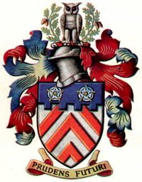 Chevronels, in the arms of Letchworth Garden City