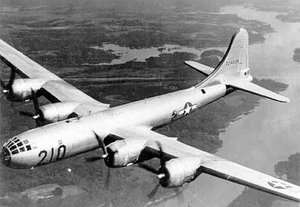 B-29 Superfortress, a Heavy Bomber