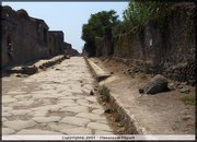 A quiet street in Pompeii