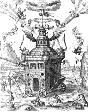 """The Temple of the Rosy Cross,"" Teophilus Schweighardt Constantiens, 1618"