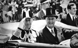 June 17, 1939, with U.S. President Franklin D. Roosevelt in the United States.