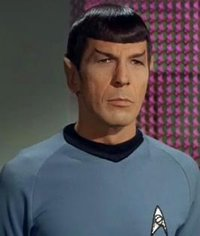 Nimoy as Mr. Spock