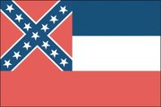 Flag of Mississippi. Image provided byClassroom Clip Art (http://classroomclipart.com)