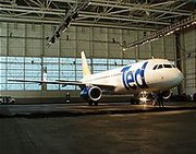 United launched , its low-cost subsidiary, in 2003. Photo ©Alex Kroychik (http://www.airliners.net/search/photo.search?photographersearch=Alexander%20Kroychik).
