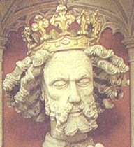 Statue of Edward II at