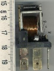 Automotive style miniature relay