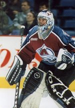 Goaltender Patrick Roy played for the Avalanche from 1995-2003