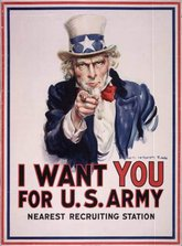 U.S. Army recruitment poster