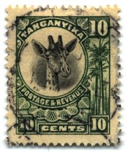 The 10c stamp of  from 1925 depicts a  and