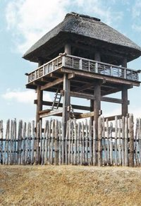 Building at a Yayoi settlement (reconstructed)