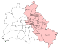 Boroughs of East Berlin