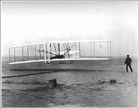 First flight, December 17, 1903.