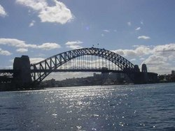 Sydney Harbour Bridge - probably the best known of  bridges
