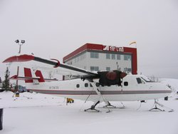 Twin Otter on Skis
