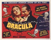 film poster, promoting 's genre-defining turn as Dracula.